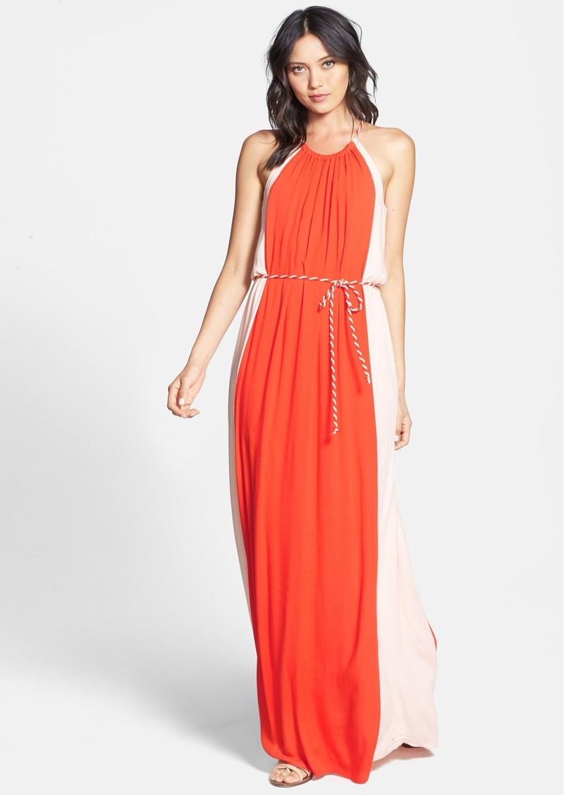 Ella Moss 'Stella' Colorblock Maxi Dress
