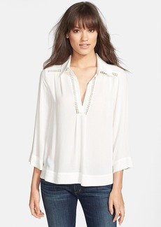Ella Moss 'Stella' Embroidered Blouse