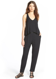 Ella Moss 'Stella' Lattice Back Jumpsuit