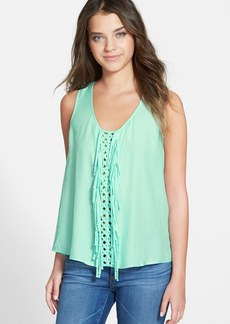 Ella Moss 'Stella' Lattice Fringe Tank