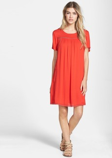 Ella Moss 'Stella' Lattice Trim Shift Dress