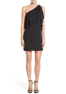 Ella Moss 'Stella' One Shoulder Crepe Dress