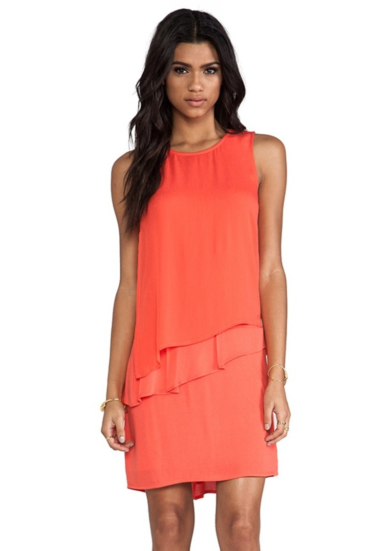 Ella Moss Stella Ruffle Dress in Orange