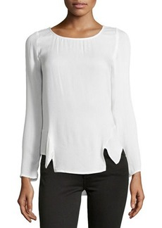 Ella Moss Stella Side Peplum Top