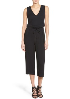 Ella Moss 'Stella' Sleeveless Crop Jumpsuit