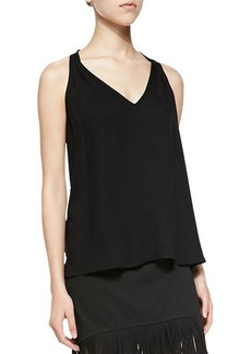 Ella Moss Stella Sleeveless V-Neck Racerback Top