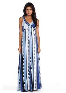 Ella Moss Surfer Stripe Maxi Dress