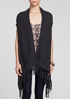 Ella Moss Sweater Vest - Lena Fringe