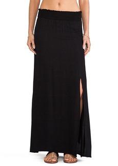 Ella Moss Sydne Maxi Skirt in Black