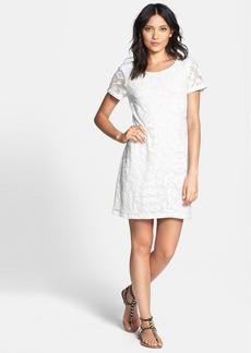Ella Moss 'Talitha' Geo Burnout Shift Dress