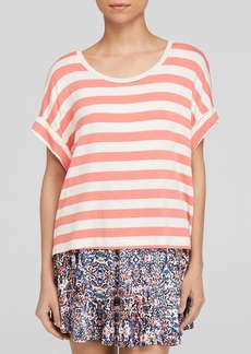 Ella Moss Tee - Barbara Striped