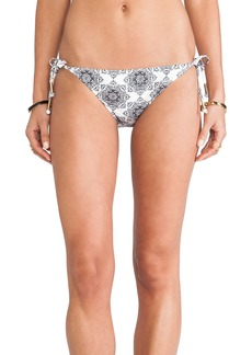 Ella Moss Tie Side Bikini Bottom