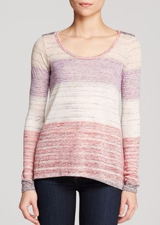 Ella Moss Top - Sonora Stripe
