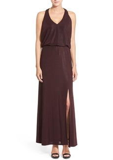 Ella Moss 'Twilight' Metallic Maxi Dress