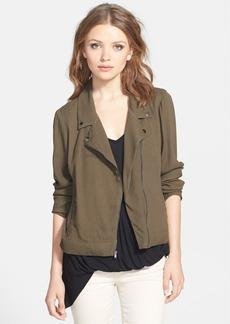 Ella Moss 'Vero' Moto Shirt Jacket
