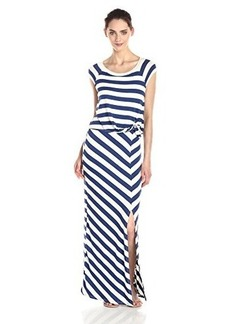 Ella moss Women's Barbara Maxi Dress, Azul, Medium