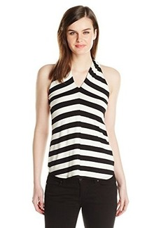 Ella moss Women's Barbara Stripe Tank, Black, Small