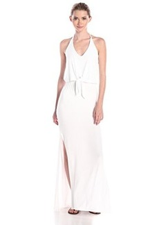 Ella moss Women's Bella Jersey Maxi Dress, White, Large