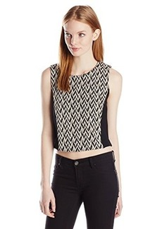 Ella moss Women's Cass Jacquard Crop Top