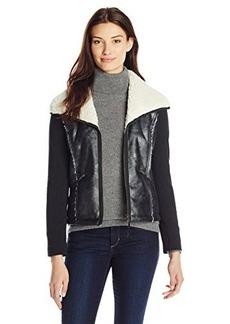 Ella moss Women's Dimitri Faux Fur Jacket
