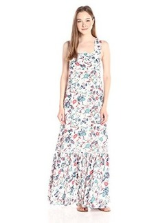 Ella moss Women's Dolce Flora Maxi Dress, Natural, Large