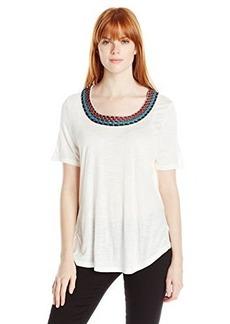 Ella moss Women's Embellished Tee Shirt