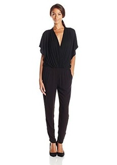 Ella moss Women's Icon Jersey Surplice Jumpsuit