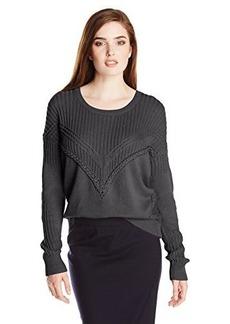 Ella moss Women's Lena Cable-Stitch Sweater
