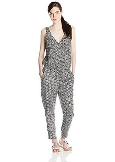 Ella moss Women's Monet Jumpsuit, Black, Large