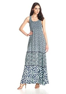 Ella moss Women's Monet Maxi Dress, Ink, X-Small