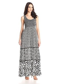 Ella moss Women's Monet Maxi Dress, Black, X-Small