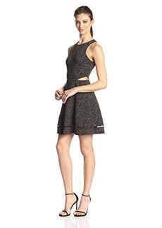 Ella moss Women's Myriam Side Cut Out Dress