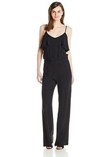 Ella moss Women's Stella Jumpsuit, Black, Medium