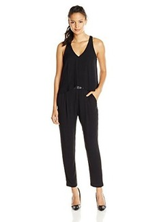 Ella moss Women's Stella Jumpsuit, Black, Medium