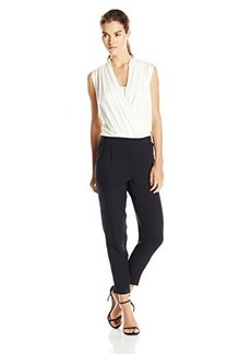 Ella moss Women's Stella Jumpsuit, Black/Natural, X-Small