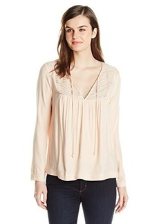 Ella moss Women's Stella Long Sleeve, Nude, X-Small