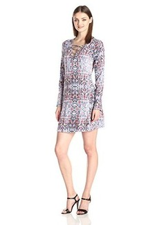 Ella moss Women's Yvette Dress, Multi, Medium