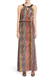 Ella Moss 'Wonderlust' Sleeveless Silk Maxi Dress