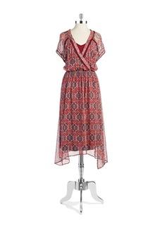 ELLA MOSS Wrap-Style Dress