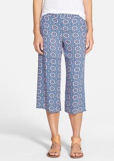 Ella Moss 'Yazmine' Wide Leg Crop Pants