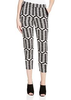 Ella Moss Zaire Graphic Print Pants