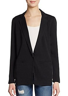 Ella Moss Zip Detailed Blazer