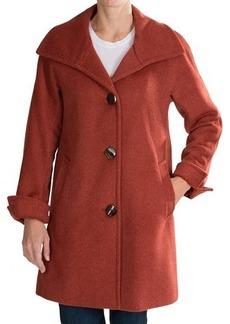 Ellen Tracy A-Line Wool Coat (For Women)