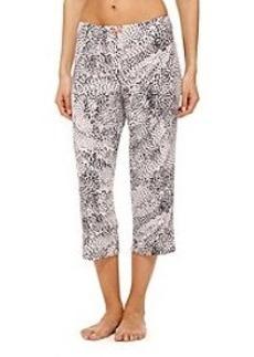 Ellen Tracy® Animal Print Capri Pants