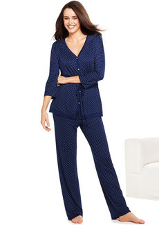 Ellen Tracy Autumn 3/4 Sleeve Top and Pajama Pants