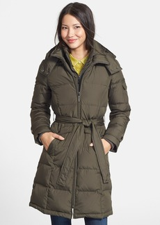 Ellen Tracy Belted Down Coat (Regular & Petite) (Online Only)