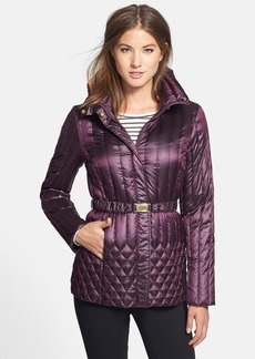 Ellen Tracy Belted Packable Down Jacket (Regular & Petite) (Online Only)