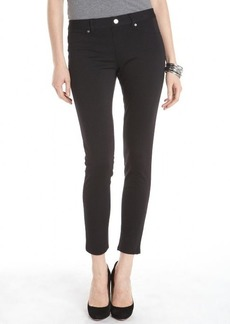 Ellen Tracy black stretch knit slim pants