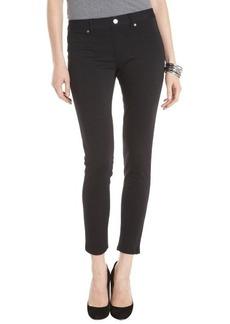 Ellen Tracy black stretch knit slim pants