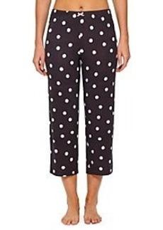 Ellen Tracy® Crop Pajama Pants - Scattered Dot